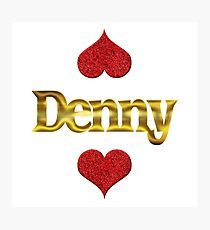 Denny Photographic Print