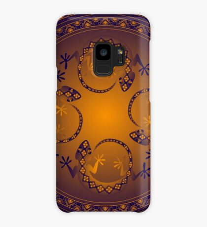 Orange Gecko Case/Skin for Samsung Galaxy