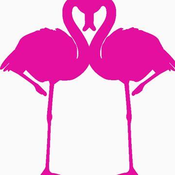 Flamingo Love by carisafari