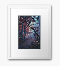 Haunted Autumn  Framed Print