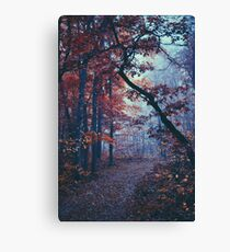 Haunted Autumn  Canvas Print