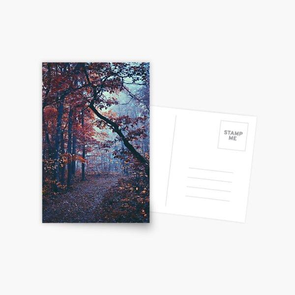 Haunted Autumn  Postcard