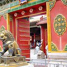 """""""The Male Lion Guards the Palace . . ."""" by lurline"""