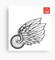 This Bike Got Wings - East Peak Apparel Metal Print