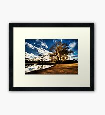 Lake Burley Griffin Framed Print