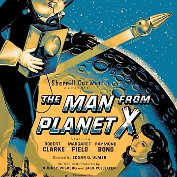 The Man From Planet X by Antxoita