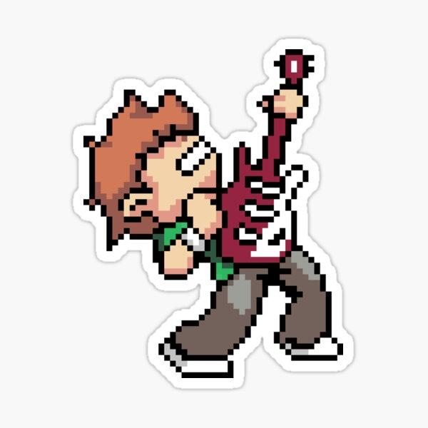 Rocker Scott Pilgrim Sticker