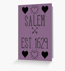 Salem town Greeting Card