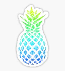 Mandala fade pinapple Sticker