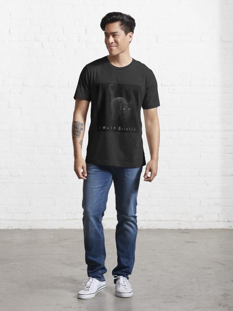Alternate view of I Walk Quietly Essential T-Shirt