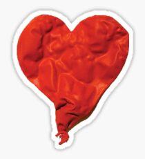 Hartes Herz Sticker