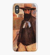 Portrait of Aristide Maillol 1899 József Rippl-Rónai iPhone Case/Skin