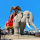 Lucy the Elephant by Lanis Rossi