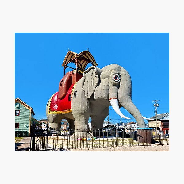 Lucy the Elephant Photographic Print