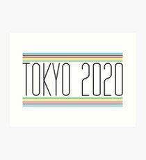 Tokio 2020 Kunstdruck