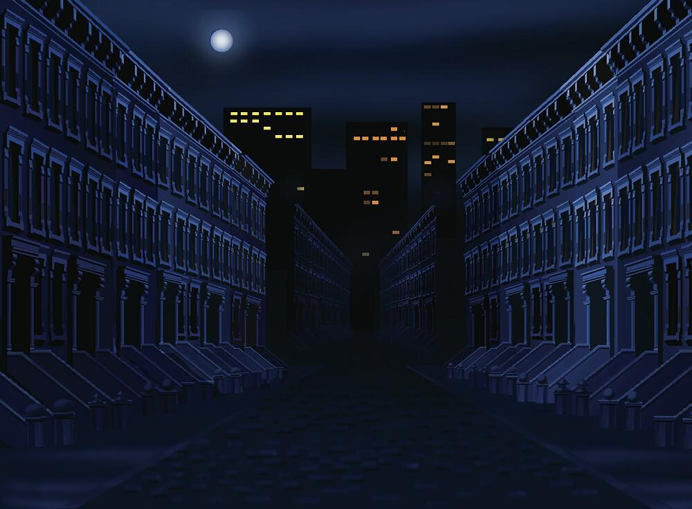 Dark Street by larryr33