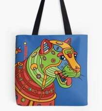 Jaguar, from the AlphaPod collection Tote Bag