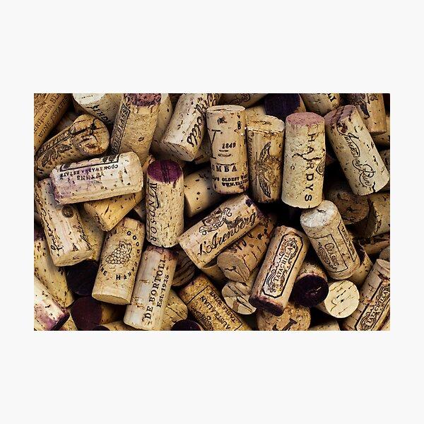 Wine Corks 2 Photographic Print