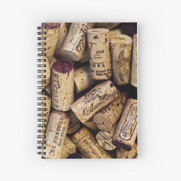Wine Corks 2 Spiral Notebook
