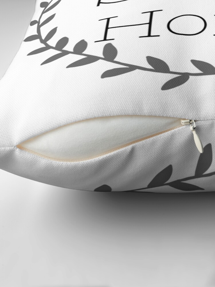 Alternate view of Home Sweet Home Throw Pillow