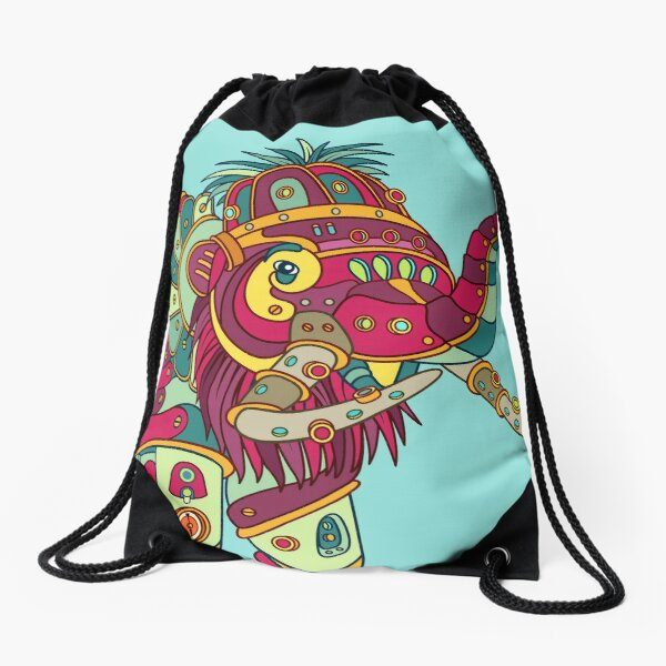 Mammoth, from the AlphaPod collection Drawstring Bag
