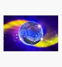 Soccer or Football Photographic Print