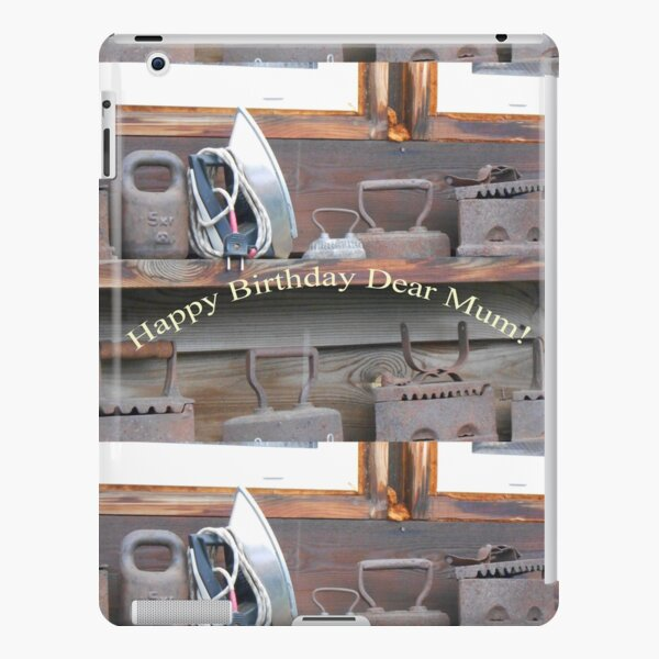 Happy Birthday Dear Mum! iPad Snap Case