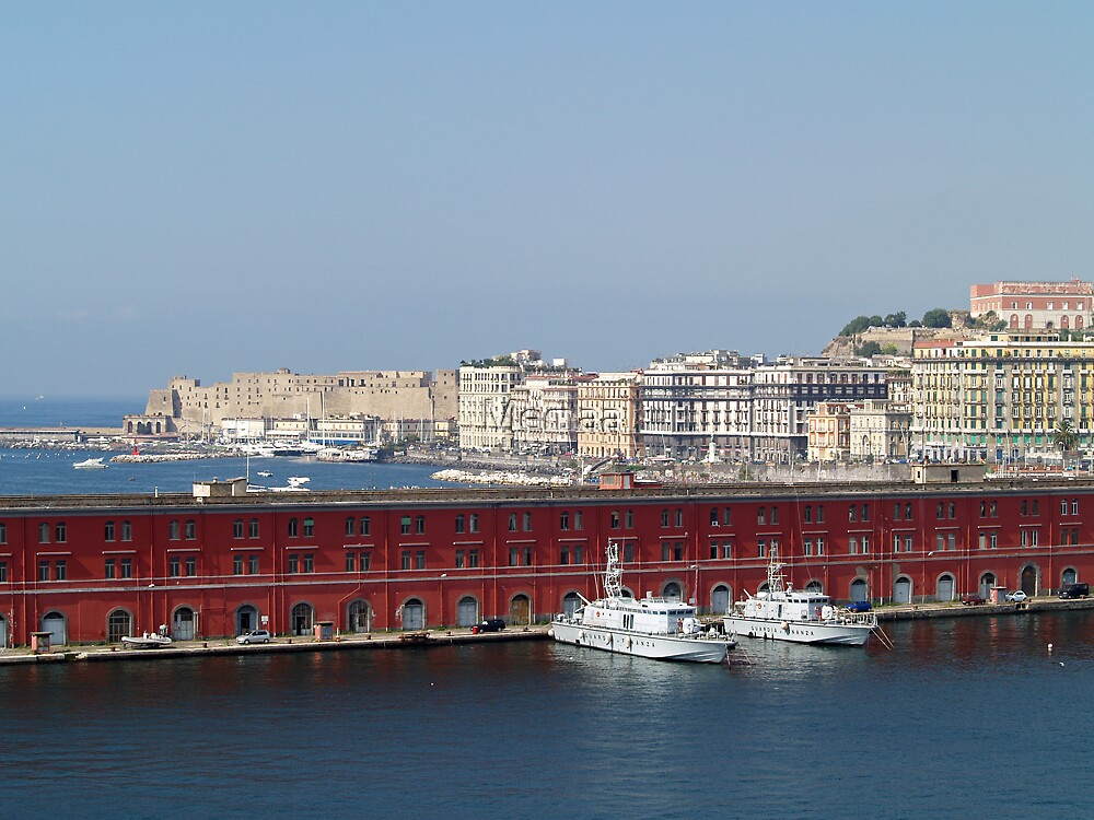 Welcome To Naples, Italy by Memaa