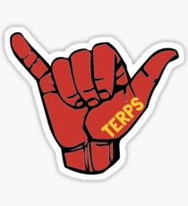 Hang Loose Terps Sticker