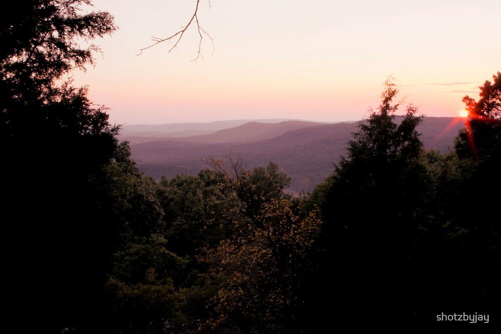 Sunset in Shawnee National Forest by shotzbyjay