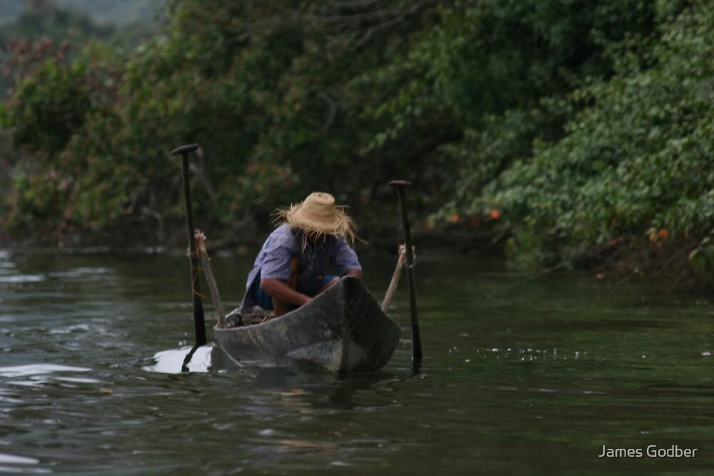 Gone fishing by James Godber