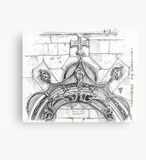Mosteiro da Batalha sketch Metal Print
