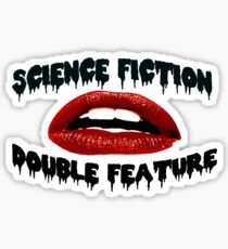Science Fiction Double Feature Sticker