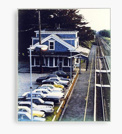 Kingston RR Station 1984 Canvas Print
