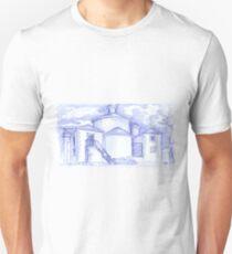 Ermida de Sto. Amaro sketch T-Shirt