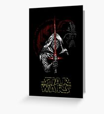 THE FORCE Greeting Card