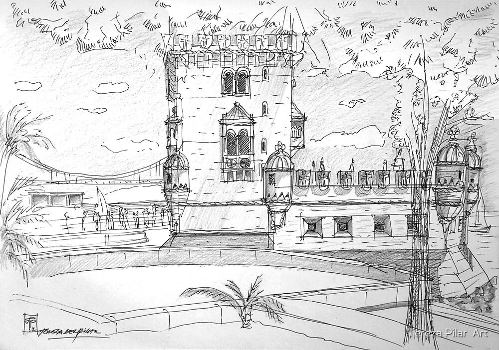 Torre de Belém lisboa portugal by terezadelpilar ~ art & architecture