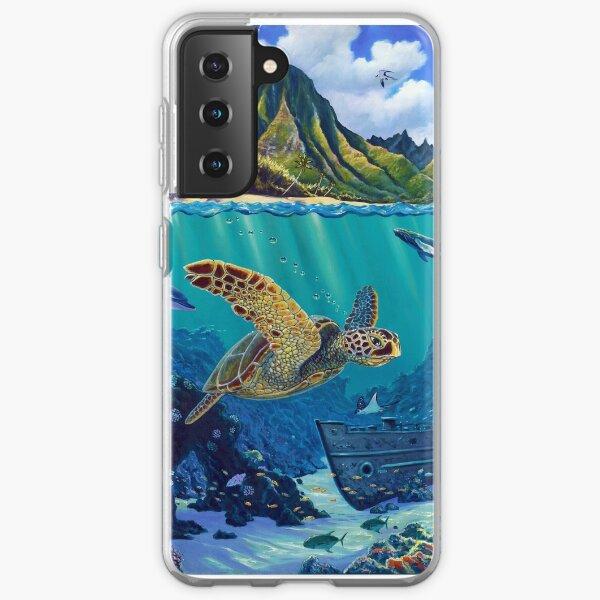 Bali Hai Reef Samsung Galaxy Soft Case