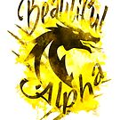 Beautiful Dragon Alpha Yellow by MandyRosko