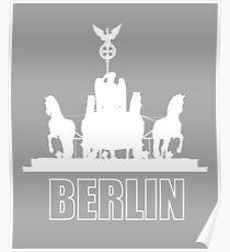 Berlin, Germany - Quadriga Brandenburger Tor Poster