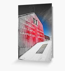 maritimer's façade Greeting Card