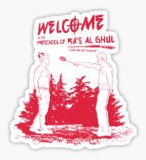 PRESCHOOL OF RA`S AL GHUL Sticker