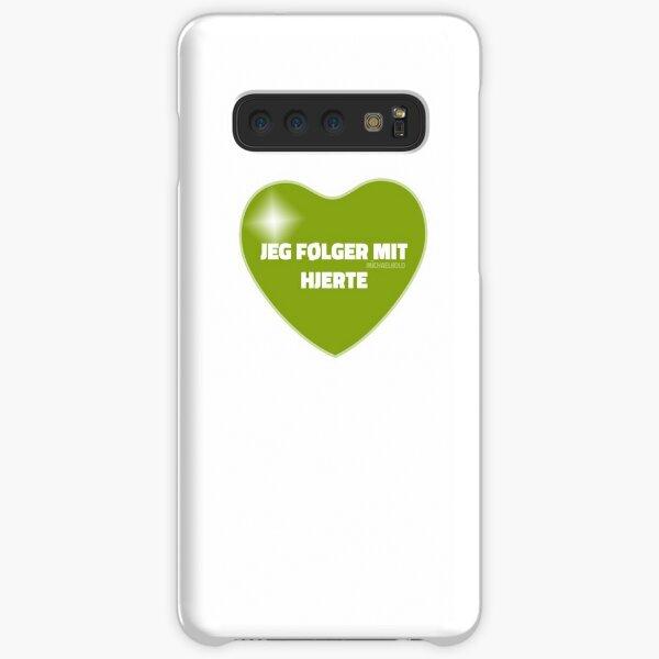 Jeg følger mit hjerte (Green) Samsung Galaxy Snap Case