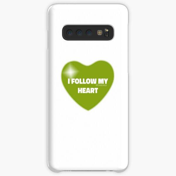 I Follow My Heart (Green) Samsung Galaxy Snap Case