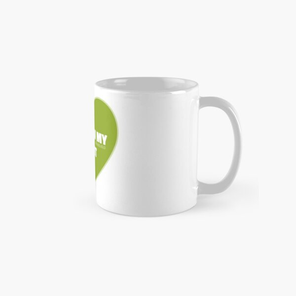 I Follow My Heart (Green) Classic Mug