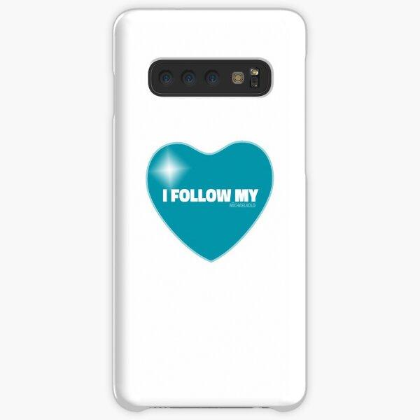 I Follow My ❤ (Blue) Samsung Galaxy Snap Case
