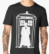 The Doctor and the Tardis Men's Premium T-Shirt