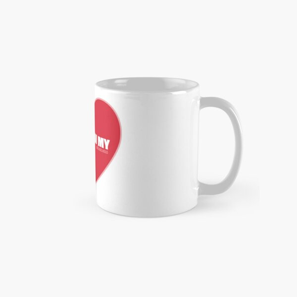 I Follow My ❤ (Red) Classic Mug