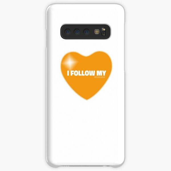 I Follow My ❤ (Orange) Samsung Galaxy Snap Case