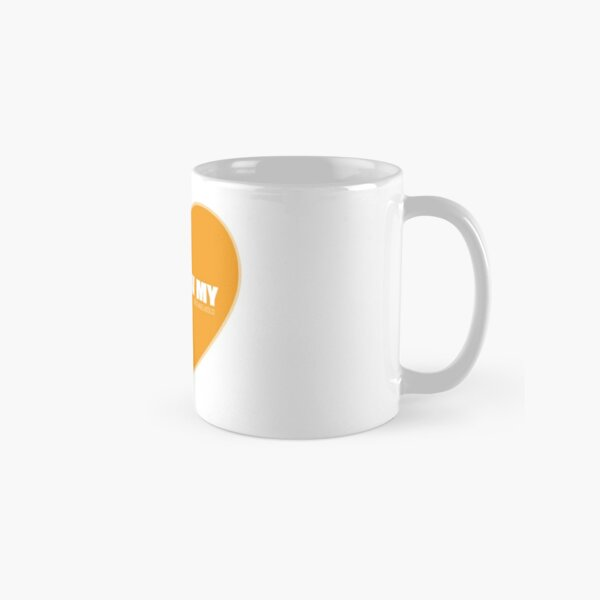 I Follow My ❤ (Orange) Classic Mug